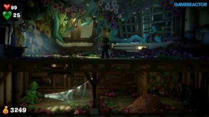 Luigi's Mansion 3 - Combat and Gooigi Puzzle Gameplay