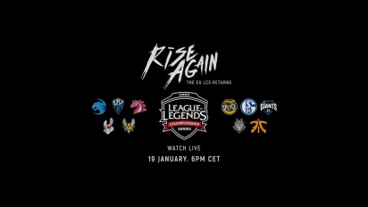 League of Legends - EU LCS Spring 2018 - Rise Again Trailer