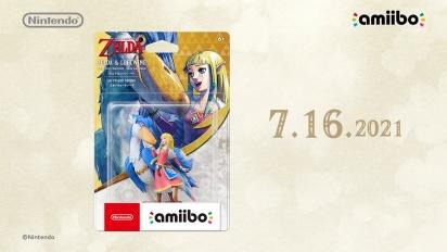 The Legend of Zelda: Skyward Sword HD - Zelda & Loftwing amiibo Trailer