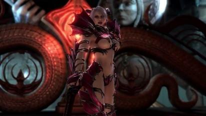 Soul Calibur: Lost Swords - Magic Knight Armor Trailer