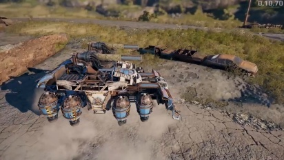 Crossout - Wasteland Cup Update Highlights