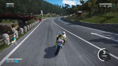 Gameplay - Ride 2 - Kanto Temples Circuit