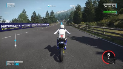 Gameplay - Ride 2 - Stelvio Pass Circuit