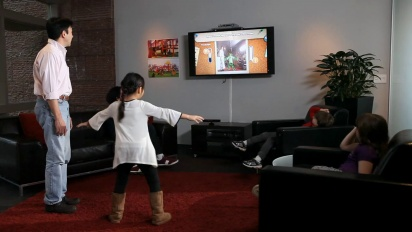 Kinect Rush: A Disney Pixar Adventure - Connecting with Families Trailer