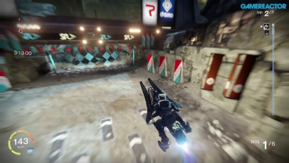 Gameplay: Destiny Sparrow Racing