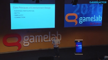 Presentasjon: Hugo Martin - Entertainment Design (Gamelab 2016)