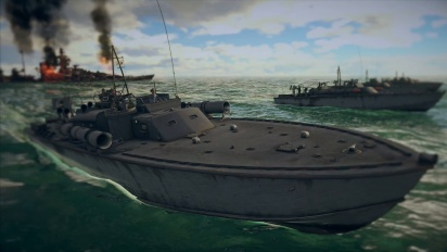 War Thunder - Knights of the Sea Naval Battles Teaser