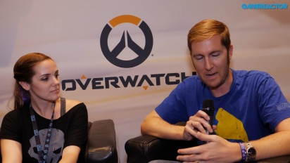 Overwatch - Rachel Day & Tim Ford Interview