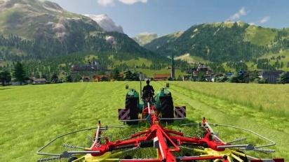 Farming Simulator 19 - Alpine Farming Expansion Gameplay Trailer