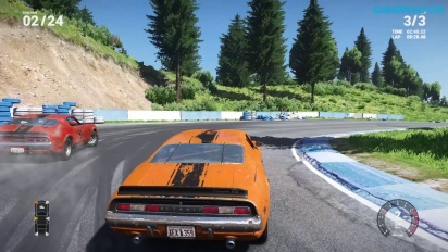 Gameplay: Next Car Game Early Access Pre-Alpha: Tarmac Race 24 Cars