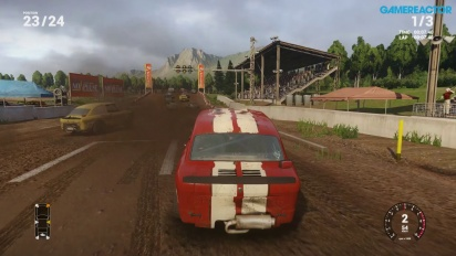 Gameplay: Next Car Game Early Access Pre-Alpha: Gravel Race 24 Cars
