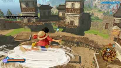 One Piece: World Seeker - Pirate Islands Freeroam Gameplay