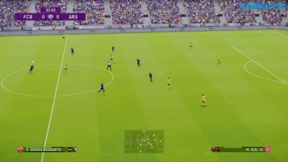 eFootball PES 2020 - FC Barcelona vs. Arsenal-gameplay