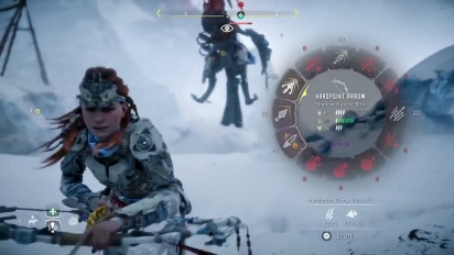 Horizon: Zero Dawn - The Frozen Wilds Playthrough Survivor