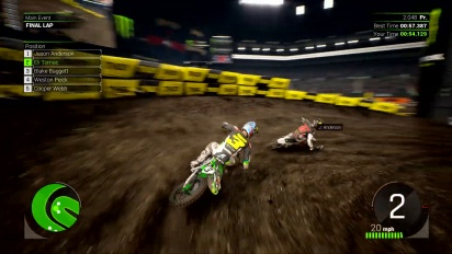 Monster Energy Supercross :The Official Videogame 2 - First Gameplay trailer
