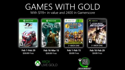 Xbox - February 2020 Games with Gold