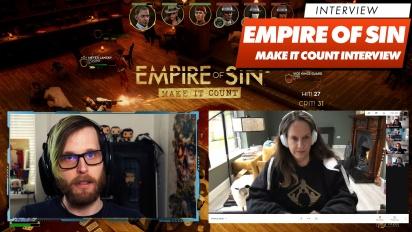 Empire of Sin: Make It Count - Romero Games Interview