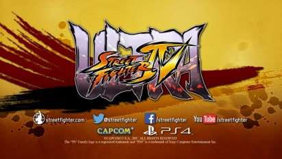 Ultra Street Fighter IV - PS4 Announcement Trailer