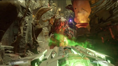 Doom - E3 2015 Bethesda Showcase Hell Campaign Gameplay