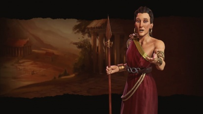 Civilization VI - First Look Greece (Gorgo)