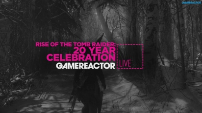 GRTV Live: Rise of the Tomb Raider (PS4)