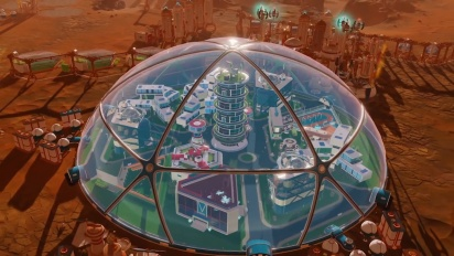 Surviving Mars - In-Dome Buildings Pack Release Trailer