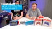 Hori Switch og PlayStation 4-utstyr - Quick Look