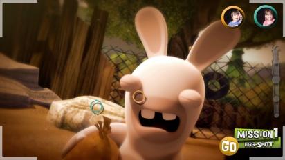 Rabbids Invasion: The Interactive Tv Show - E3 Trailer