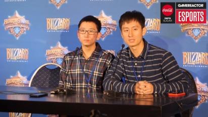 Hearthstone World Championship - Pressekonferanse med SamuelTsao