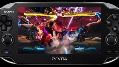 Street Fighter X Tekken - PS Vita Battle Highlights Trailer