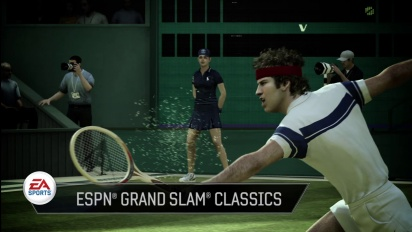 Grand Slam Tennis 2 - Demo Sizzle Trailer