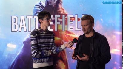 Battlefield V - intervju med Daniel Berlin