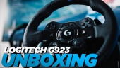 Logitech G923 Trueforce Sim Racing Wheel - Unboxing and Features (Sponsored)