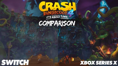Crash Bandicoot 4 - Xbox One, Nintendo Switch, and Xbox Series Comparison
