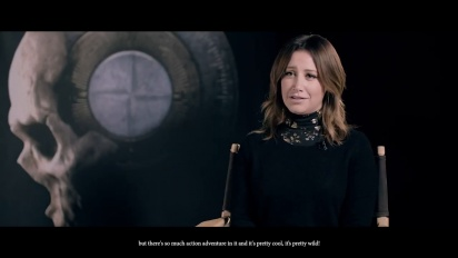 The Dark Pictures Anthology: House of Ashes - Interview with Ashley Tisdale Part 1