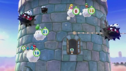 Mario Party 10 - Fuzzy Fliers Minigame