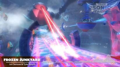Team Sonic Racing - Frozen Junkyard OST Trailer