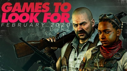 Games to Look For - Februar 2020