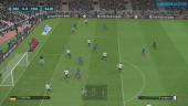 PES 2017 - Gameplay med Tyskland vs Frankrike