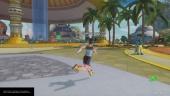 Gameplay: Dragon Ball Xenoverse 2 Beta - Overworld Tour
