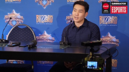 Hearthstone World Championship 2018 - Pressekonferanse med Fr0zen