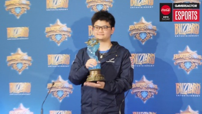 Hearthstone World Championship 2018 -Pressekonferanse med vinneren tom60229