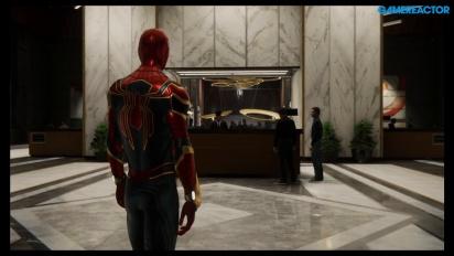 Spider-Man - Mary Jane blir til Spidey i glitch-gameplay
