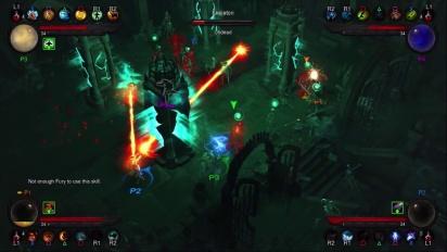 Diablo III - PS3 E3 Multiplayer Trailer