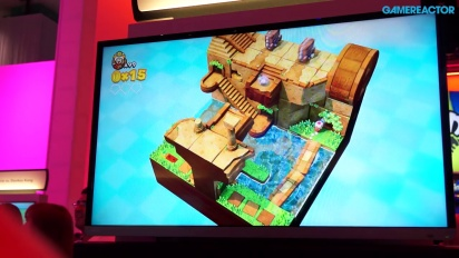 E3 2014 Captain Toad: Treasure Tracker - Gameplay
