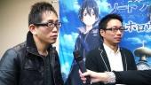 Sword Art Online: Hollow Realization - Yosuke Futami & Hiroshi Hirayae-intervju