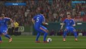 GR spår Fotball-EM - Kroatia vs. Spania