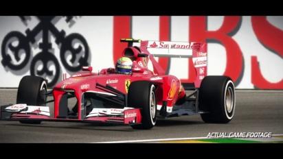 F1 2013 - Brazil Hotlap Trailer