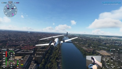 Microsoft Flight Simulator - A Quick Flight Over Seville with TCA Sidestick Airbus Edition
