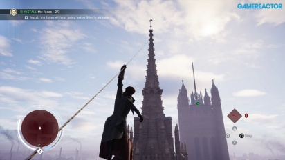 Gameplay: Assassin's Creed: Syndicate (PS4) Graham Bell & Big Ben (med Evie)